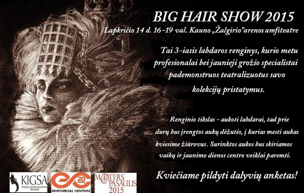 """""""BIG HAIR SHOW 2015"""""""
