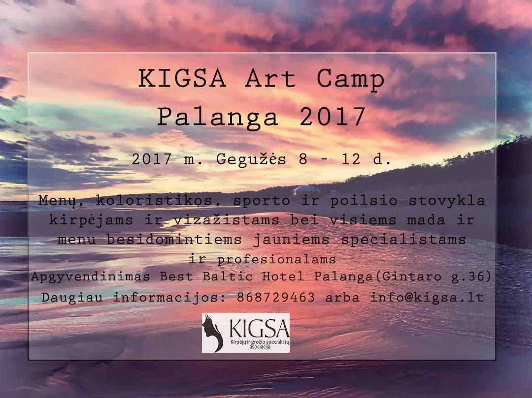 KIGSA ART CAMP PALANGA 2017