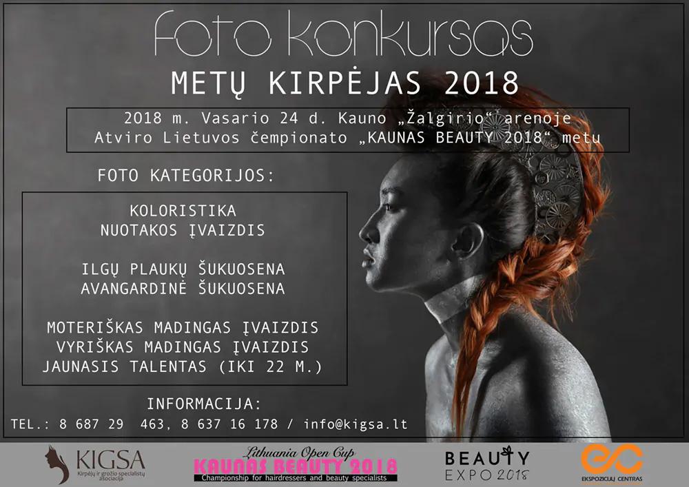FOTO KONKURSO METŲ KIRPĖJAS 2018 REZULTATAI