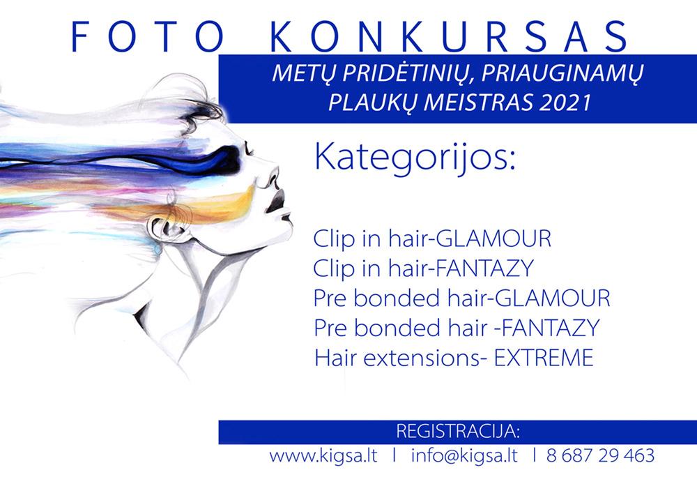Metų pridėtinių, priauginamų plaukų meistras 2021