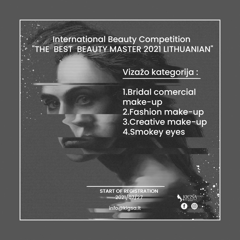 REGISTRACIJA VIZAŽO MEISTRAMS – International Beauty Competition 2021