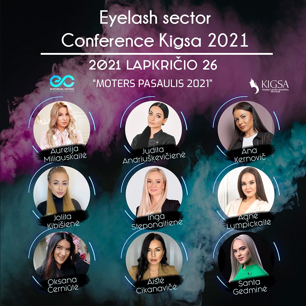 EYELASH SECTOR CONFERENCE KIGSA 2021